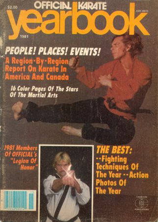 1981 Cover of the Karate Yearbook