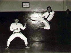 Mike Sullenger Flying Kick
