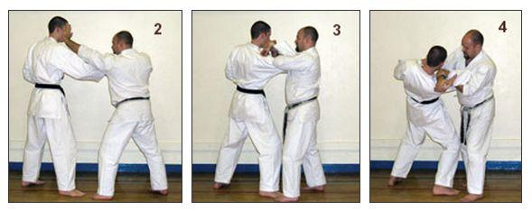 The Basics of Bunkai: Part 4 Figure 2-3-4