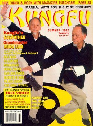 Grandmaster Ming Lum Cover Kung Fu Magazine