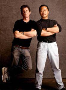 Lou Reed and Master Ren Guangyi