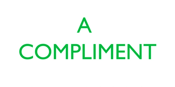 A Compliment