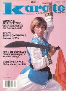 Cynthia Rothrock Karate Illustrated