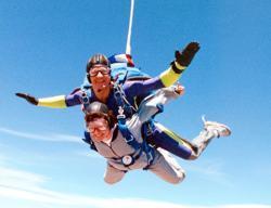 Dana Stamos Skydiving
