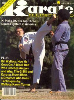 Earnest Hart Jr Karate Illustrated Cover