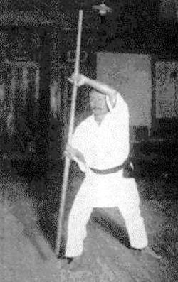 Gichin Funakoshi Bo