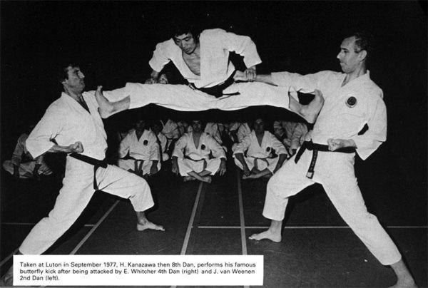 Hirokazu Kanazawa Butterfly Kick 1977