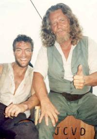 Jerry Piddington and Jean-Claude Van Damme