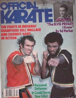 Bill Wallace and Earnest Hart Jr on Official Karate Magazine