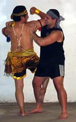Khmer Bokator's San Kim Saen and Antonio Graceffo