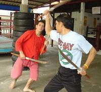 Krabi Krabong Sword Practice