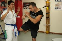 Shihan Michael Ding and Antonio Graceffo