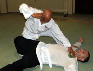 Guru Mazlan and Antonio Graceffo