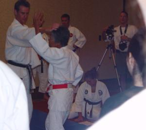 Professor Mullins teaching at Ohana 2005