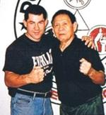 Vince Palumbo with Grand Master Cacoy Canete