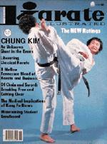 Kim Chung in Karate Illustrated