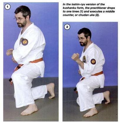 Kushanku Form Knee Drop