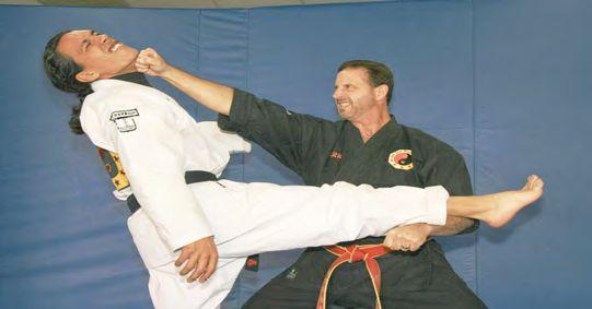 Shotokan Component of Civilized Go Jiu Bujitsu