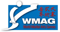 World Martial Arts Game Logo