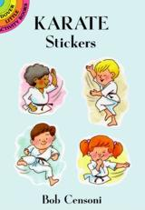 Karate Stickers by Bob Censoni