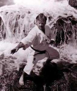Don Warrener doing Goju Ryu Seipai Kata