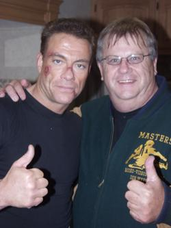 Jean Claude Van Damme and Don Warrener
