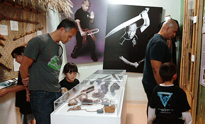 Martial Arts History Museum Visitors
