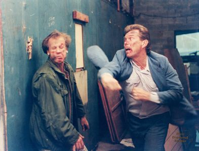 Stuntmen Greg Anderson & Duke Tirschel