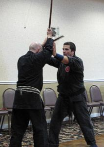 Vincent Paladino and Mark Lithgow Training