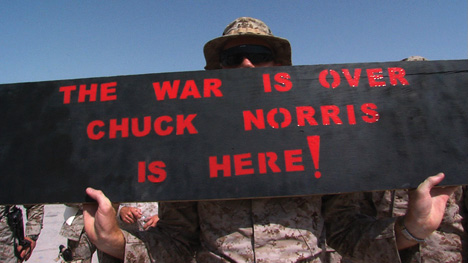 The War is Over - Chuck Norris is Here