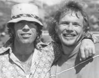 Duke Tirschel and Chuck Norris