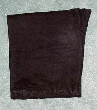 Folding the Gi: pants folded in thirds