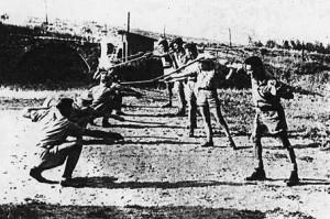 Gadna 1942, Kapap lesson