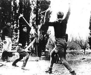Maishel Teaching the Late Yitzhak Rabin, 1941