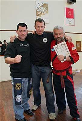 Grandmaster Palumbo, Master Leigh Jenkins,