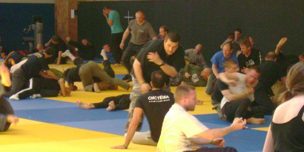 Vladimir Vasilievs seminar Fighting on the Move