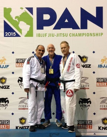 Pat Worley wins Gold at PAN's 2015
