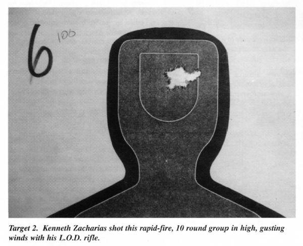 Kenneth Zacharias shot rapid-fire