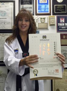 Rondy McKee KUKKIWON Certified Testing Judge