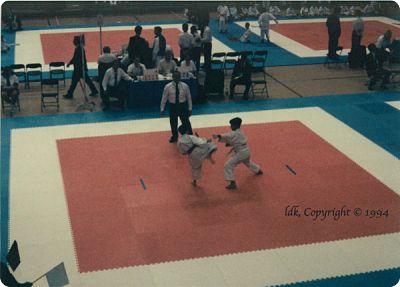 Kumite Competition Seattle