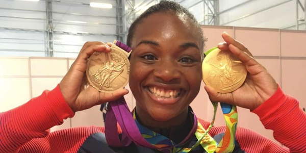 Claressa Shields Wins 2 Gold Medals