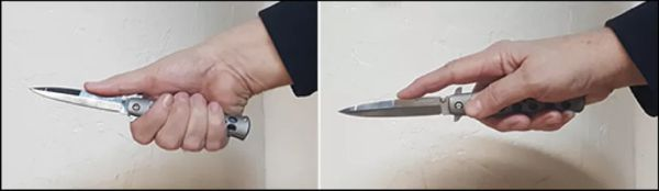 The Knife Grip - Unsafe Grips